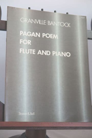 Bantock G - Pagan Poem for Flute and Piano